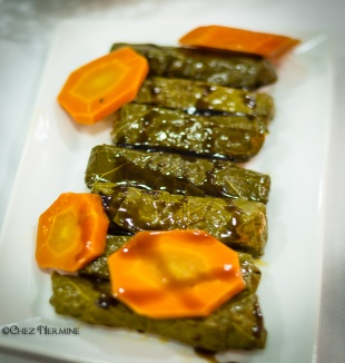 Yallangy (Vegan Stuffed Wine Leaves)